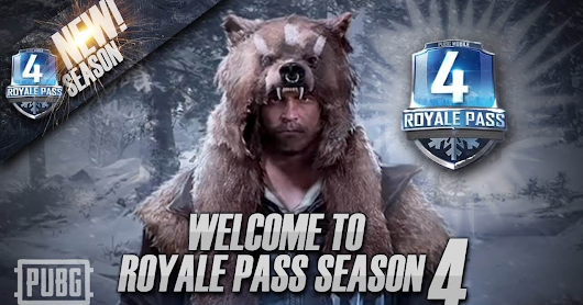 Murah! Royal Pass PUBG Mobile Hanya Rp.10.000 di Season 4 dan Gratis di Season 5