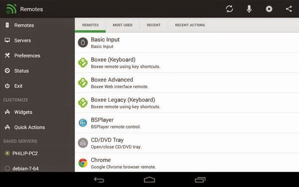 android app: Unified Remote Full v3 7 4 b37012 - Best