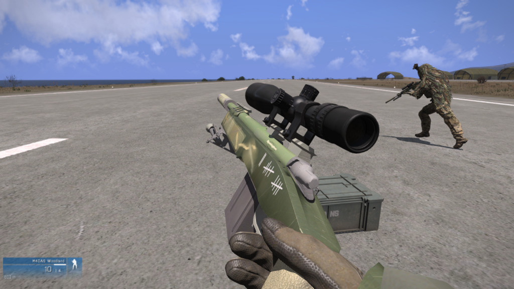 arma3に狙撃銃を追加するGPS sniper and Marksman Weapons MOD