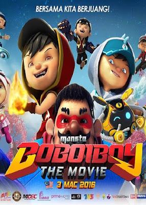 Download Boboiboy The Movie (2016) 720p DVDRip Subtitle Indonesia
