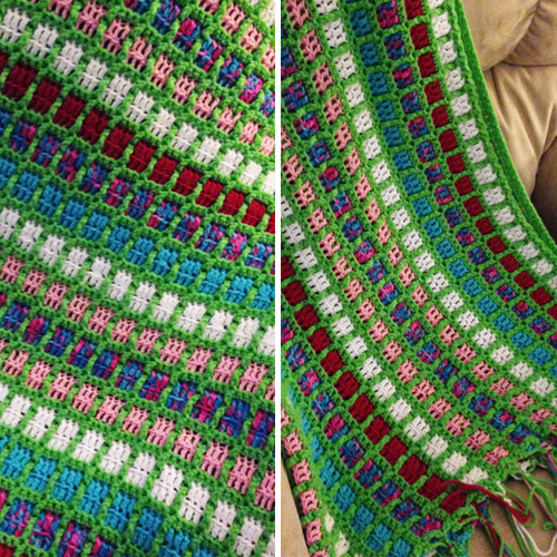 Mindless Crochet Scrapghan - Free Pattern