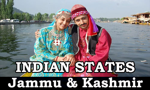 Kerala PSC - Indian States (Jammu and Kashmir)
