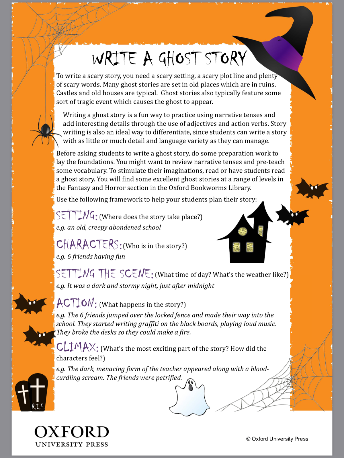Ghost Stories and How to Write Them