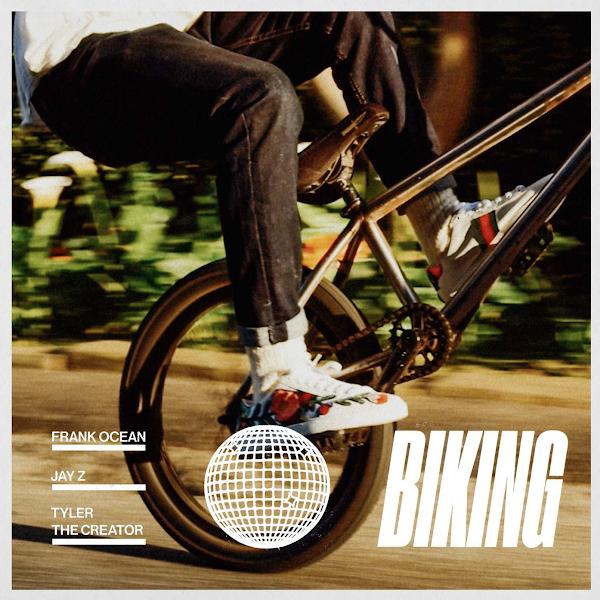 Frank Ocean - Biking (feat. Jay-Z & Tyler, The Creator) - Single Cover