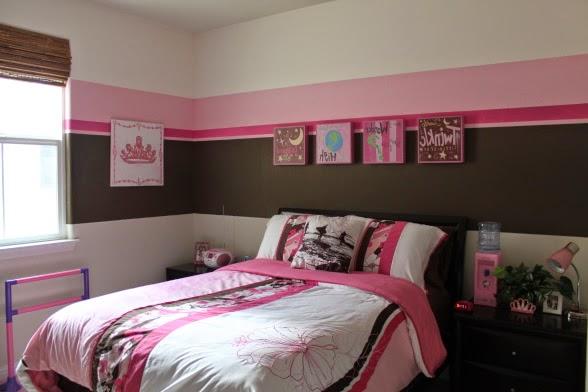 Habitaciones juveniles color rosado dormitorios colores Habitaciones juveniles rosa