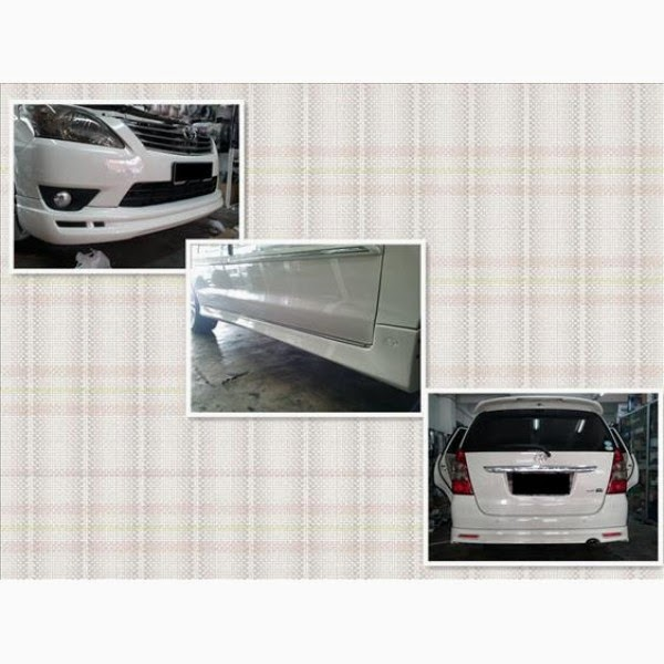 Body Kit Toyota Innova Vellfire 2011-2013