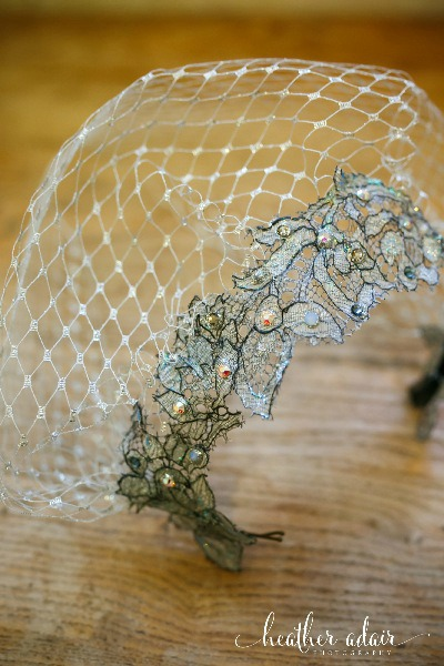 Jorjett Strumme Beaded Headpiece