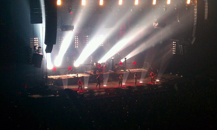 Looking for an Angel: Rammstein Burns Down the IZOD Center