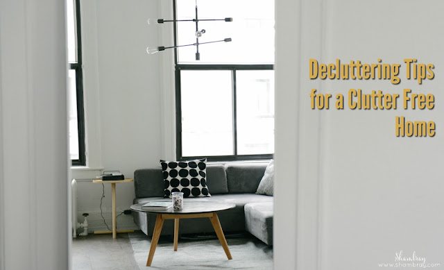 Decluttering Tips for a Clutter Free Home