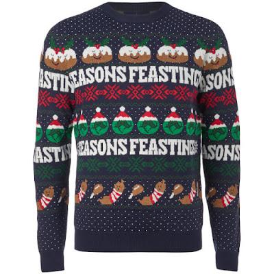 Seasons Feastings Christmas Jumper