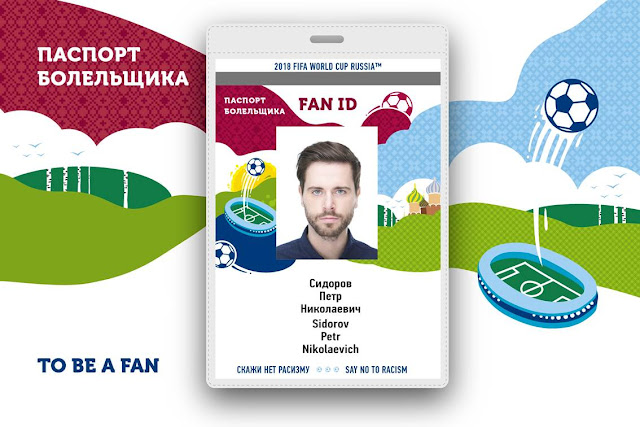 FIFA World Cup Russia 2018 FAN ID Registration