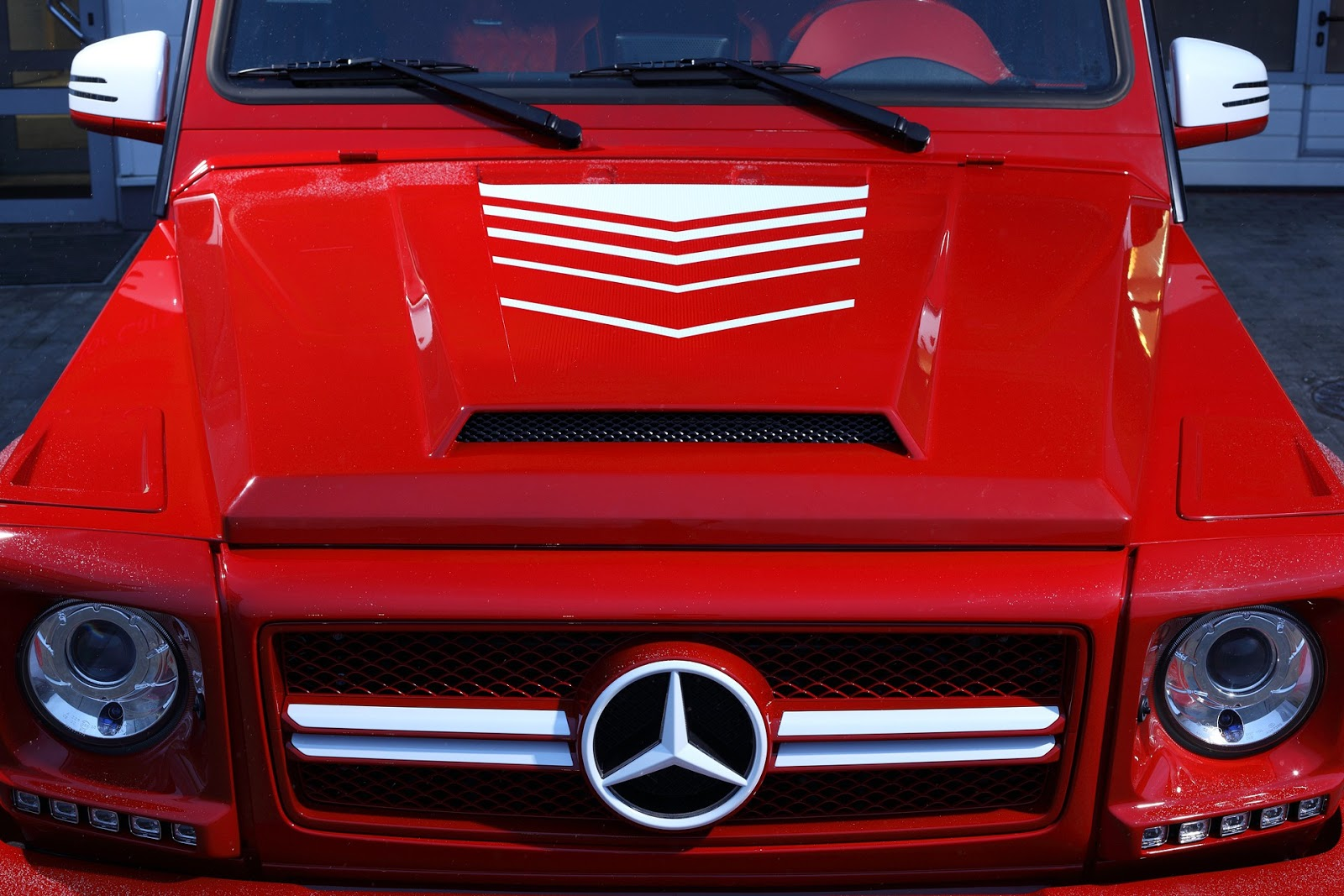 2016 mercedes benz g63 amg topcar body kit benztuning for Mercedes benz amg kit
