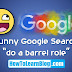 "Watch ""Do a barrel roll"" Google Search Trick"