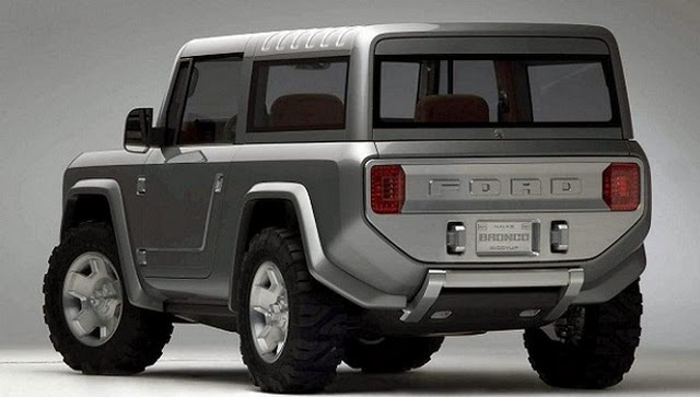 New 2015 Ford Bronco Concept
