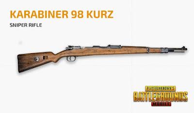 KARABINER 98 KURZ PUBG Mobile