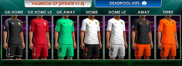 Valencia CF GDB 2016-17 [UPDATE v2.0] - DEADPOOL-Kits