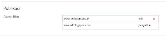 Domain Sukses Terpasang