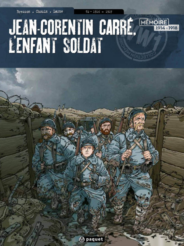 Jean-Corentin Carré, l'enfant soldat : Tome 2
