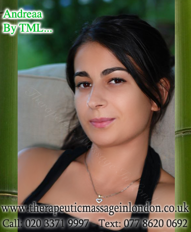 Meet our therapist: Andreaa - Therapeutic Massage In London (The Blog)