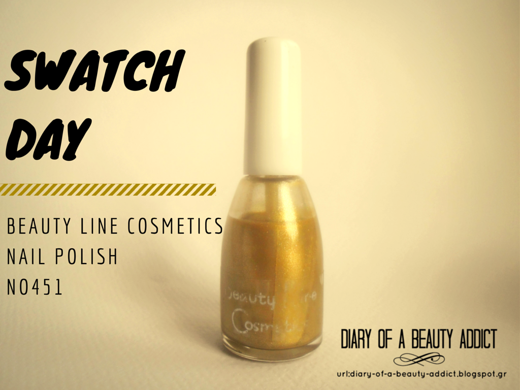 Swatch Day: Beauty Line Cosmetics Nail Polish-No451