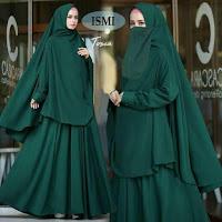 Jual Baju Busana Muslim Gamis Ismi Syari