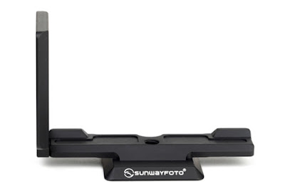 Sunwayfoto PSL-N7 L bracket back view