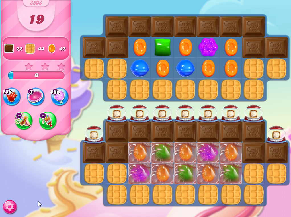 Candy Crush Saga level 3508