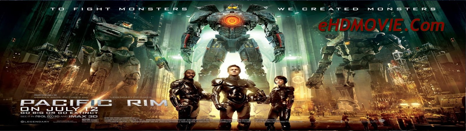 Pacific Rim 2013 Full Movie Dual Audio [Hindi – English] 1080p - 720p - 480p ORG BRRip 400MB - 1GB - 2GB ESubs Free Download