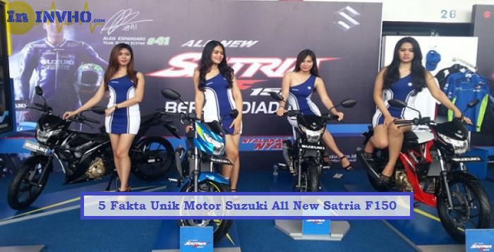 5 Fakta Unik Motor Suzuki All New Satria F150