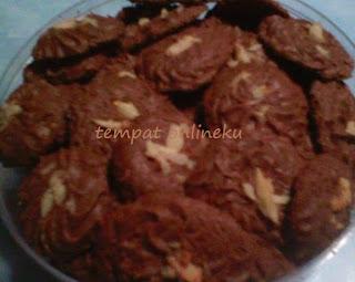 resep kue sagu coklat kenari
