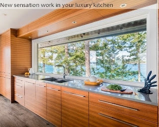 New sensation work in your luxury kitchen
