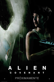 Resultado de imagen para alien covenant poster latino