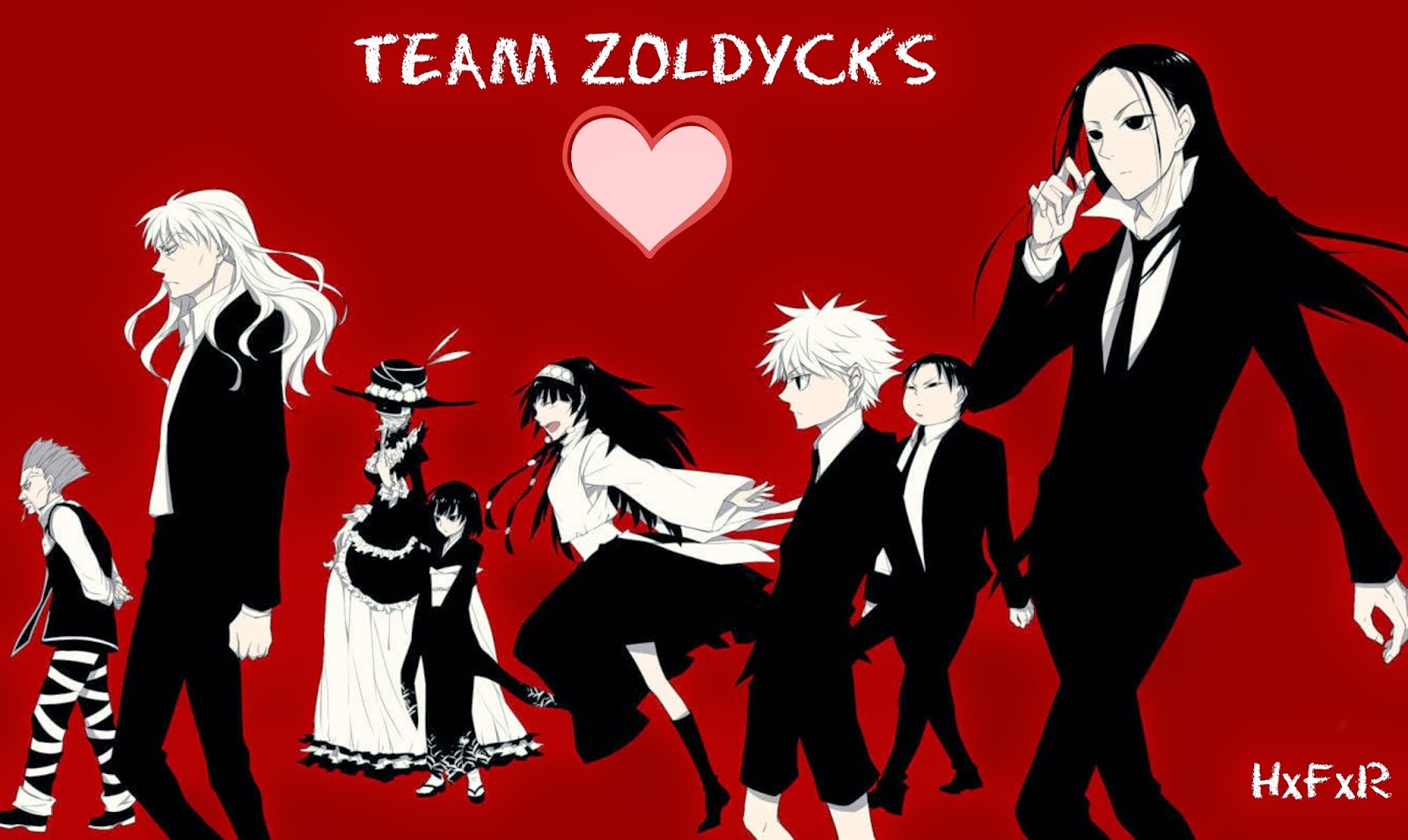 Team Zoldycks, Hunter x Hunter, Zoldyck Family, hxfxr