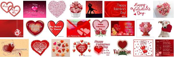 Koleksi Kartu Gambar Valentine