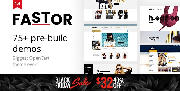 Fastor Opencart Theme Download