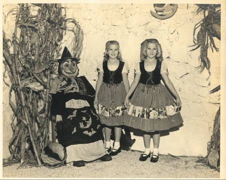 Kids In A Halloween Performance, 1951