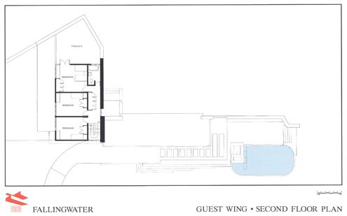 Fallingwater, Mill Run, Pennsylvania, USA, 1935 — 1939