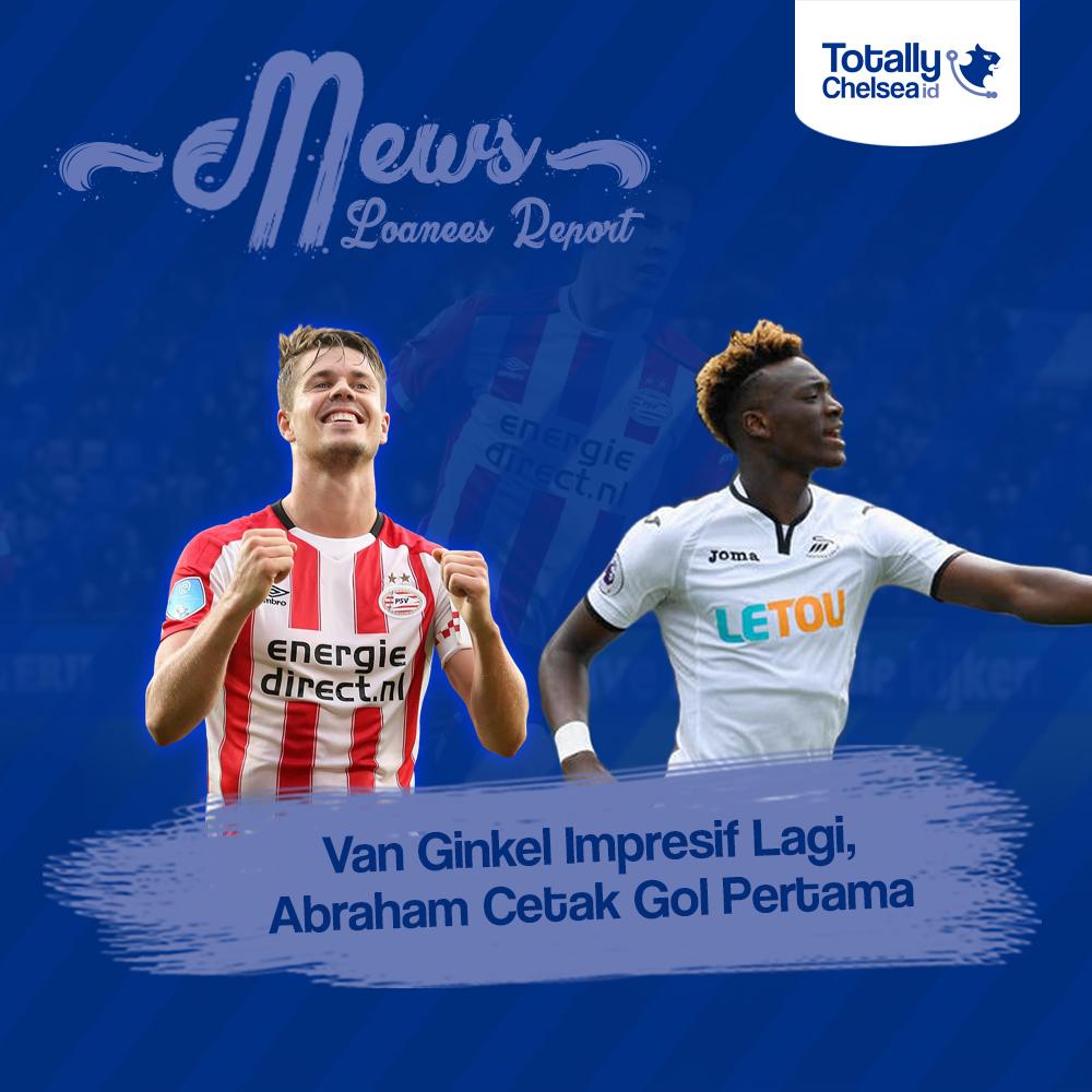 Terkini (Loanees Report) Van Ginkel Impresif Lagi, Abraham Cetak Gol Pertama