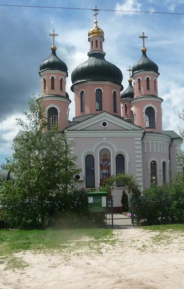 Арабатская стрелка. Церковь Георгия Победоносца
