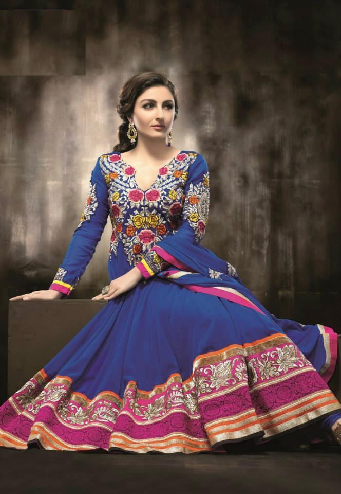 Punjab Trip: Latest Trendy Punjabi Suits For Women 2014