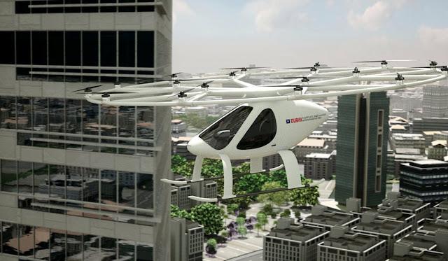 Teksi terbang baru Dubai tidak memerlukan pemandu