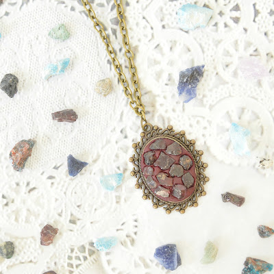 Gemstone Necklace diy