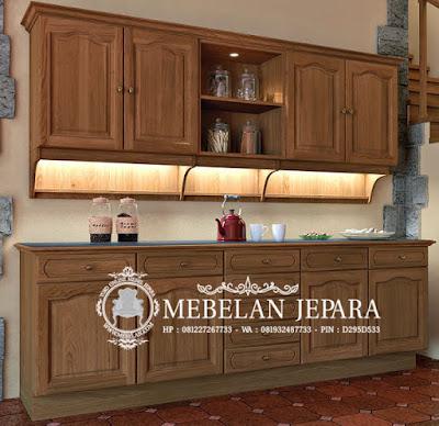 Kitchen Sett Mebel Jati Jepara