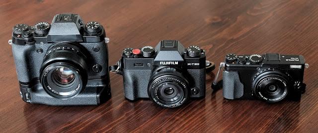Fujifilm X-T20 X-T1 X70