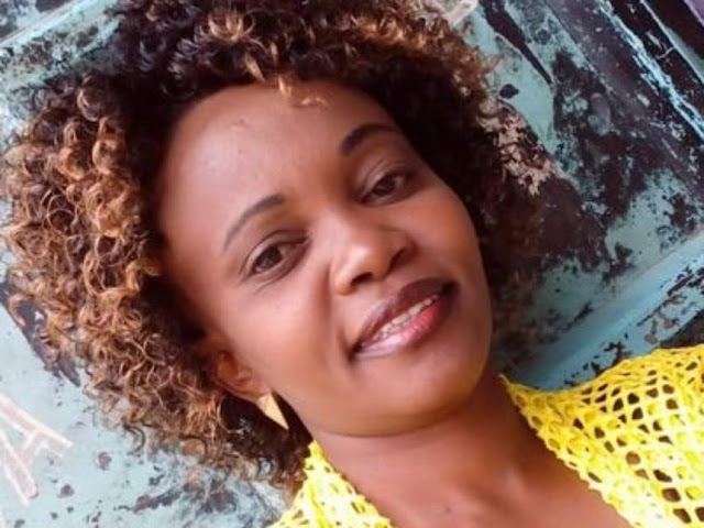 DCI: Married Caroline Mwatha Was Carrying Boyfriend's Child