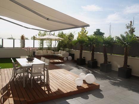 Puerta al sur ideas de decoraci n c mo decorar una terraza - Ideas para cerrar una terraza ...