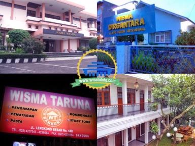 Alamat dan Kontak Wisma Murah di Bandung