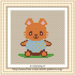 DOG (4), FREE AND EASY PRINTABLE CROSS STITCH PATTERN