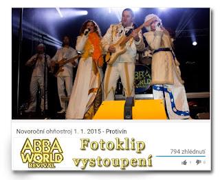 ABBA World Reviva - Protivín ohňostroj 2015