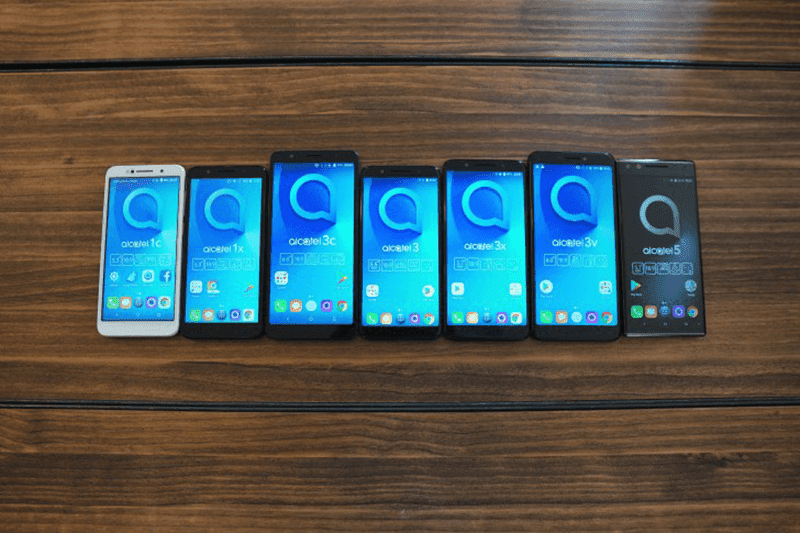 MWC 2018: Alcatel introduced a total of 7 mobile devices!